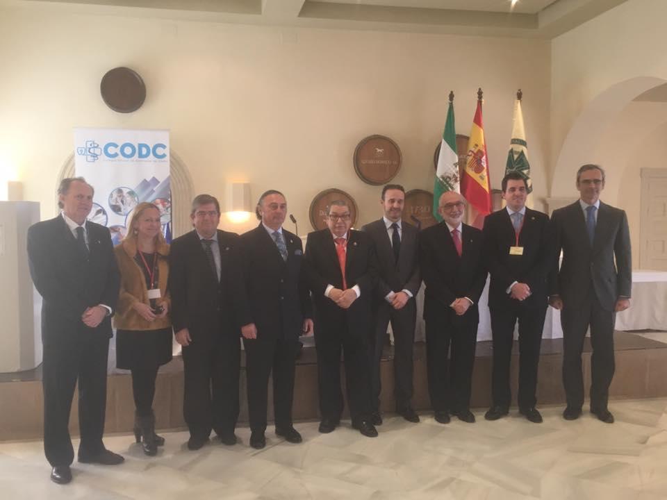 Los dentistas de Cádiz defienden en la Festividad de su Patrona su papel como profesionales de la salud al servicio de la sociedad