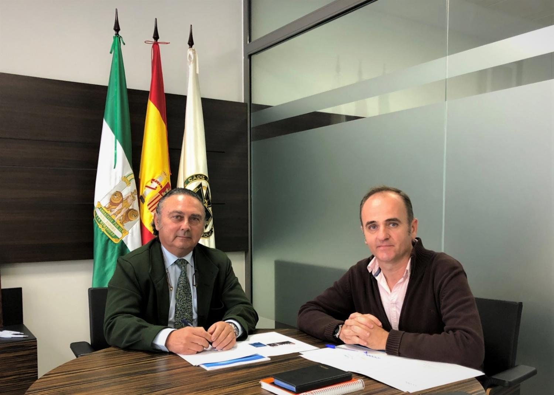 Reunión con el Interlocutor Policial Sanitario en la Provincia de Cádiz