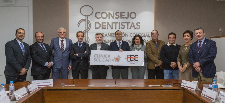 La Fundación Dental Española avala 12 clínicas solidarias de Colegios Oficiales de Dentistas