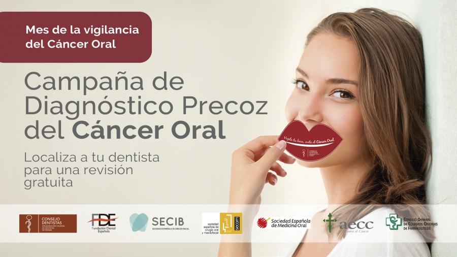 Arranca la Campaña para el Diagnóstico Precoz del Cáncer Oral